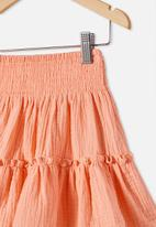 Cotton On - Luisa skirt - orange