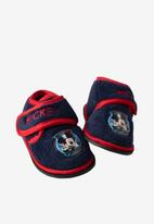 Character Group - Mickey mouse velcro slipper - blue