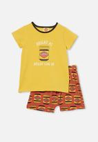 Cotton On - Hudson pyjama set licensed - multi