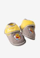 Character Group - Winnie the pooh velcro slipper - grey