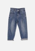 Cotton On - Rosita balloon leg jean - blue