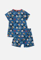 Cotton On - Hudson pyjama set licensed - multi