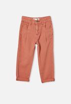 Cotton On - Rosita balloon leg jean - red