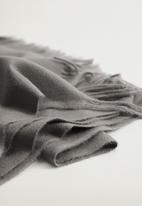 MANGO - Scarf sweet - grey