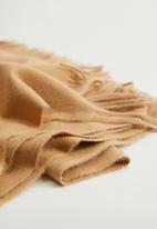 MANGO - Scarf sweet - medium brown