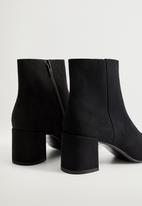 MANGO - Noona ankle boot - black