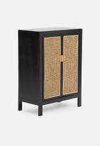 Sixth Floor - Mika drinks cabinet- natural & black
