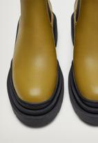 MANGO - Nacho boot - dark green