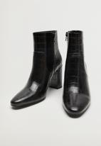 MANGO - Caleo ankle boot - black