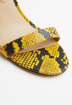 ALDO - Okraina heel - yellow & black