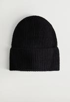 MANGO - Hat bea - black