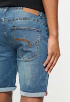 Aca Joe - Aca joe styled denim shorts - light blue