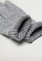 MANGO - Gloves beatriz - grey