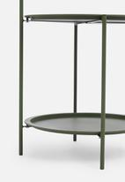 H&S - Tray side table - green