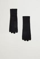 MANGO - Gloves beatriz - black