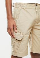 Aca Joe - Aca joe cargo shorts - beige