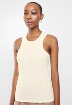 Vero Moda - Kaya sleeveless top - neutral