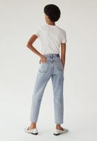 MANGO - Jeans mom - blue