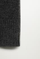 MANGO - Trousers taldora - dark grey
