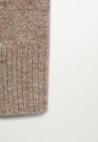 MANGO - Trousers taldora - beige
