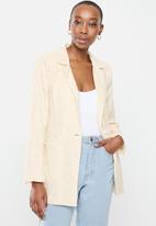 Cotton On - Broderie blazer - neutral