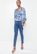 Glamorous - Rita top - blue