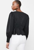 Glamorous - Dimsey top - black