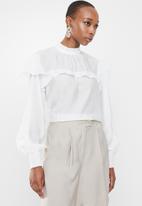 Glamorous - Arizona top - white