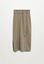 MANGO - Skirt sofa-a - beige