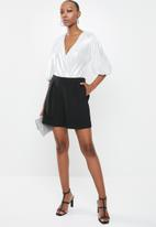 Glamorous - Serina bodysuit - silver