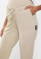 Missguided - Maternity 90's joggers - neutral