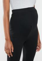 Missguided - Maternity legging with waistband - black