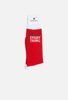 Cotton On - Merry everything - red & white