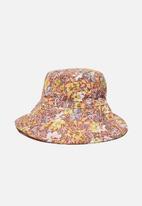 Cotton On - Wide brim bucket hat - multi