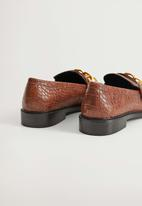 MANGO - Roy loafer - brown