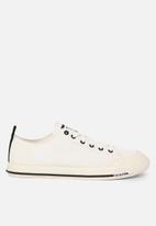 Diesel  - S-astico low cut sneakers - white
