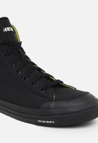 Diesel  - S-astico mid cut sneakers - black
