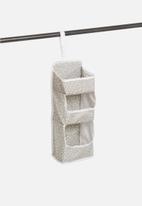 Sixth Floor - Spotty hanging 1-tier organizer - grey
