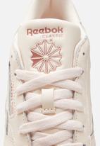 Reebok - Cl lthr - ceramic pink/blush metal/ftwr white