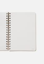Typo - A5 dot daily scribe notebook - grey