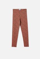 Free by Cotton On - Alex legging - rust