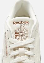 Reebok - Cl lthr - chalk/golden bronze /ftwr white
