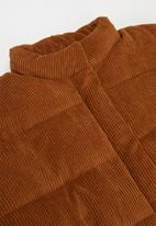 KIDS ONLY - Nevie padded corduroy jacket - brown