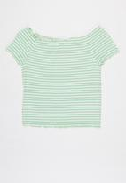 KIDS ONLY - Aroma off shoulder top - multi