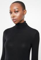 MANGO - T-shirt second - black
