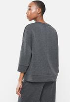 MANGO - Sweatshirt mia - dark grey