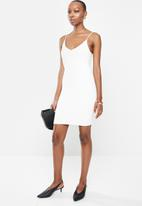 MANGO - Dress nuvertu - neutral