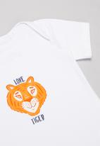 Superbalist Kids - Baby boys 2 pack graphic top - navy & white