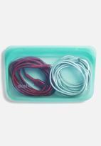 Stasher - Reusable silicone snack bag - blue
