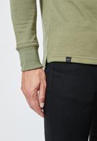 Superbalist - Friday high neck pullover sweat - khaki